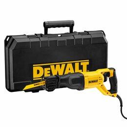 Пилы сабельные и электроножовки - Сабельная пила Dewalt DWE305PK, 0
