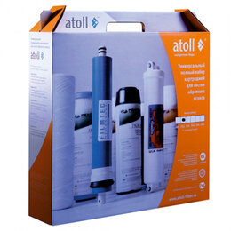 Фильтры для воды и комплектующие - Набор картриджей Atoll №102 STD, 0