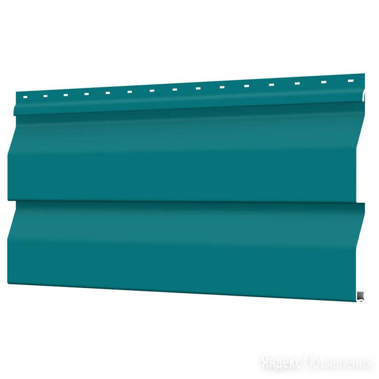 Сайдинг металлический Корабельная Доска RAL5021 Морская Волна ЭКОНОМ по цене 88₽ - Сайдинг, фото 0