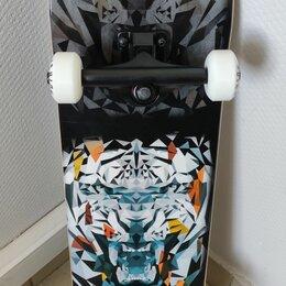 "Скейтборды и лонгборды - Скейтборд PLAYSHION TIGY 31""x8"", 0"