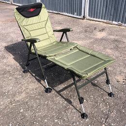 Походная мебель - Карповое кресло с подставкой для ног, 0