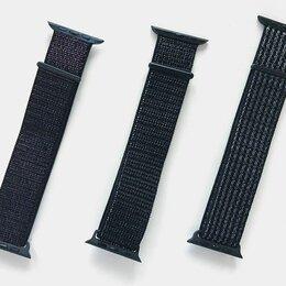 Ремешки для умных часов - Ремешок на липучке для часов Apple Watch 42, 44 мм, 0