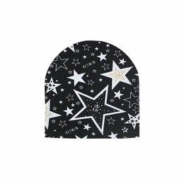 Головные уборы - Шапка трикотажная KETMIN STAR KM 950103 детская черная р. 48-50, 52-54, 0