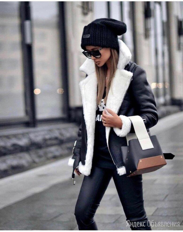 Куртка кожаная женская зимняя по цене 5500₽ - Куртки, фото 0