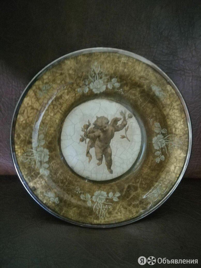 тарелка ссср. инструктация под старину.на стену. на подставку по цене 1000₽ - Посуда, фото 0