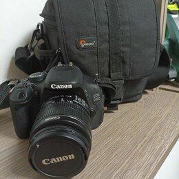 Фотоаппараты - Зеркальный фотоаппарат canon eos 600d, 0