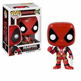 Игровые наборы и фигурки - Фигурка Funko POP! Bobble: Marvel: Deadpool: Thumb Up 7487, 0