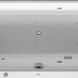 Гидромассажеры - Ванна акриловая Duravit Happy D2 1700х750х480 водн-возд.массаж+спина+ноги(Е),..., 0