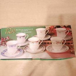Кружки, блюдца и пары - Сервиз чайный новый, 0