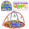 Коврик с дугами для малышей малышей и погремушками по цене 1850₽ - Развивающие коврики, фото 3