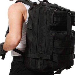 Рюкзаки - Рюкзак чёрный туристический , 0