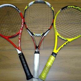 Ракетки - 3 ракетки для большого тенниса (Head, Babolat, Wilson), 0