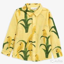 Рубашки - Рубашка с попугаями Mini Rodini, 4 года, 0