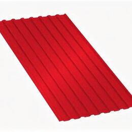 Кровля и водосток - Профнастил МП20 A Полиэстер 0,7 мм RAL 3020 Красный насыщенный, 0