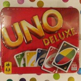 Настольные игры - Настольная игра mattel UNO делюкс , 0