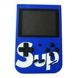Ретро-консоли и электронные игры - Игровая приставка SUP Gamebox Plus 400 в 1, синий, 0
