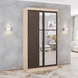 Шкафы, стенки, гарнитуры - Шкаф-купе стиль 1200 дуб сонома/ясень шимо текс, 0