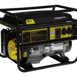 Электрогенераторы и станции - Генератор бензиновый Auster SGG-8000 7 кВт, 0