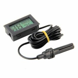 Метеостанции, термометры, барометры - Встраиваемый гигроиметр термометр с выносным датчико, 0
