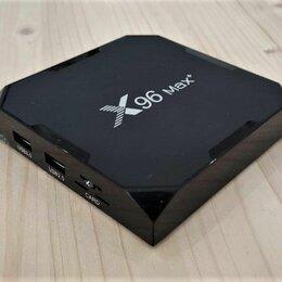 ТВ-приставки и медиаплееры - TV андроид приставка X96 max plus, 0