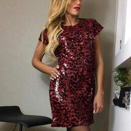 Платья - Платье С Пайетками, 0