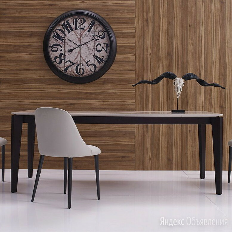 Обеденный стол бежевый 160х80 см Marbella по цене 105800₽ - Столы и столики, фото 0