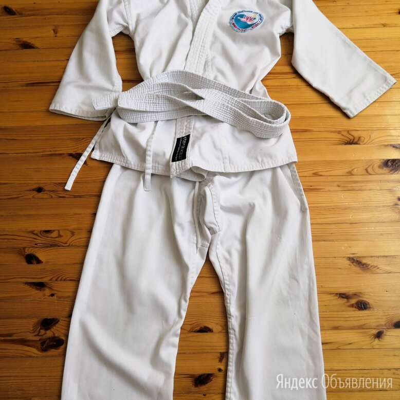 Кимано детское на рост 130см по цене 500₽ - Спортивные костюмы и форма, фото 0