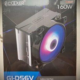 Кулеры и системы охлаждения - Кулер для процессора pccooler gi-d56v halo rgb , 0