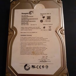 Жёсткие диски и SSD - Жёсткий диск seagate st31000528as 1тб #2, 0