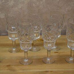 Бокалы и стаканы - Хрустальные бокалы, СССР, 0