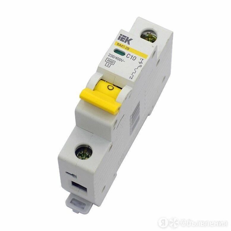 Выключатель автоматический однополюсный 25А С ВА-101 4,5кА по цене 100₽ - Защитная автоматика, фото 0