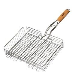 """Решетки - Решетка для барбекю глубокая серая """"Лайт"""" Helios, 0"""