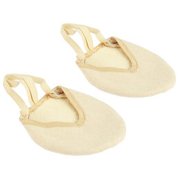 Обувь для спорта - Получешки микрофибра открытые с махровой подкладкой, размер 34-35, 0