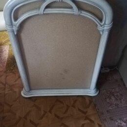 Зеркала - Большое резное зеркало слоновая кость, 0