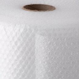 Упаковочные материалы - Пленка воздушно-пузырчатая, 40-55 г/м2, 3 слоя, 1,5x100 м., d пузыр.=10 мм., 0
