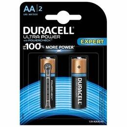 Батарейки - Батарейки Duracell LR6-2BL Ultra 2шт АА, 0