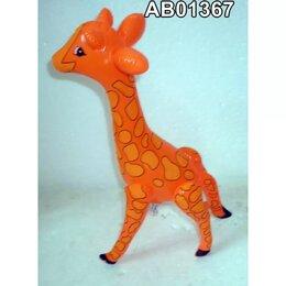 Рекламные конструкции и материалы - Надувная фигура Жёлтый жираф 34x55x18см, 0