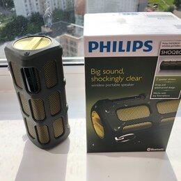 Портативная акустика - Колонка philips shoqbox, 0