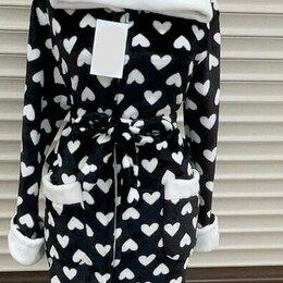 Домашняя одежда - Женский махровый халат р-ры 42-54, 0