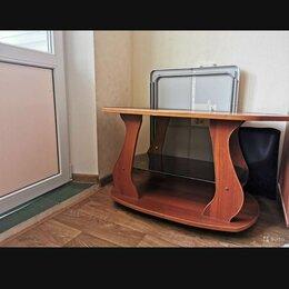 Столы и столики - Стол журнальный на колесиках, 0
