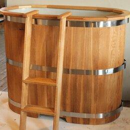 Бочки и купели - Купель для бани дубовая с пластиковм вкладышем, 0