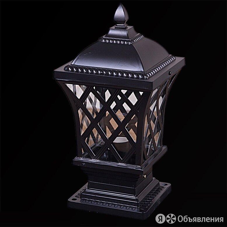 """Садово-парковый светильник Reluce """"09017х1"""" постамент. Черный по цене 1323₽ - Комплекты садовой мебели, фото 0"""