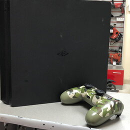 Игровые приставки - Приставка PS4. Slim 500Gb, 0