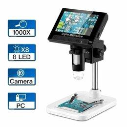 Микроскопы - Новый цифровой микроскоп с ЖК-дисплеем, 0