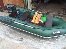 Моторные лодки и катера - ПВХ Лодка БАРК 270 с  Мотор МТР Марине 2,6, 0