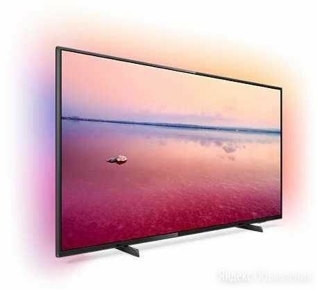"""Телевизор PHILIPS 55PUS6704/60, 55"""" UHD 4K по цене 33590₽ - Телевизоры, фото 0"""
