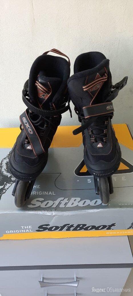 Роликовые коньки K2 Exo EUR 41.5 (26,5 см) по цене 2500₽ - Роликовые коньки, фото 0