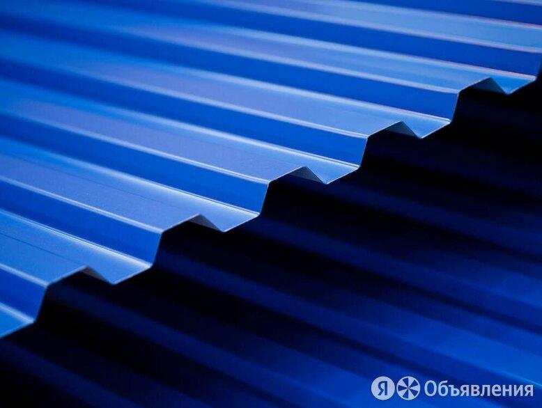 Профнастил С-20 1,15х2 синий по цене 1300₽ - Металлопрокат, фото 0