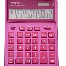 Калькуляторы - CITIZEN Калькулятор настольный CITIZEN SDC444XRPKE, 12 разрядов, двойное пита..., 0
