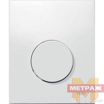 Клавиша смыва TECEloop Urinal пластиковая белая по цене 6308₽ - Плитка из керамогранита, фото 0